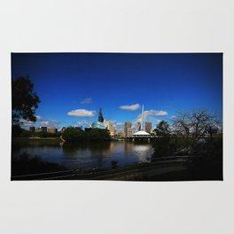 Downtown Winnipeg 3 Picture Panorama Rug