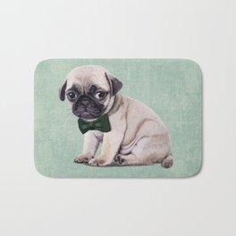 Angry Pug Bath Mat