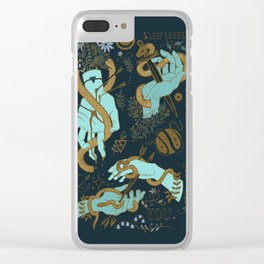 Hunger of the pine Clear iPhone Case