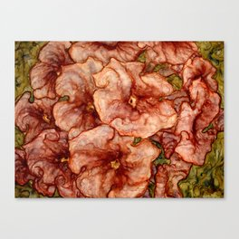 Red Lantana Canvas Print