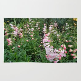 Towers of Flowering Foxglove Rug