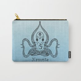 Paisley Yoga Octopus Namaste Carry-All Pouch