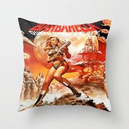 Queen Of The Galaxy Throw Pillow
