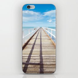 Boardwalk on the Beach iPhone Skin