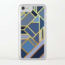 Art Deco Drops Of Jupiter Clear iPhone Case