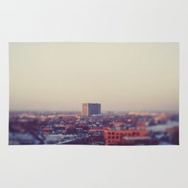 Morning Over Detroit Rug