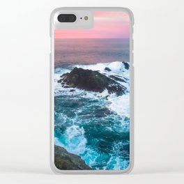 Sunset on the Bay of Biscay Clear iPhone Case