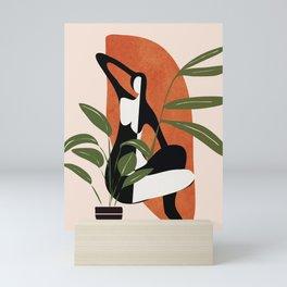 Abstract Female Figure 20 Mini Art Print