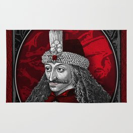Vlad Dracula Gothic Rug
