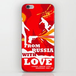 James Bond Golden Era Series :: From Russia with Love iPhone Skin