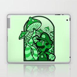 mushroom man Laptop & iPad Skin