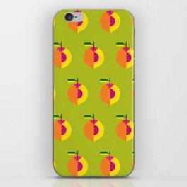 Fruit: Peach iPhone Skin