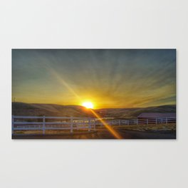 Sunrise on September 7th Canvas Print
