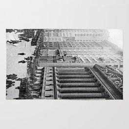 Vintage Wall Street NYC Photograph (1921) Rug