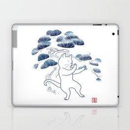 Tai Chi Cat 04 Laptop & iPad Skin