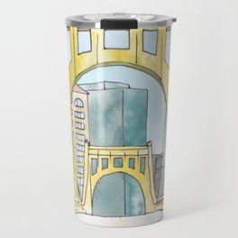 Roberto Clemente Bridge Travel Mug