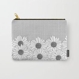 Daisy Grid Carry-All Pouch