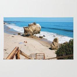 El Matador State Beach Stairs Rug