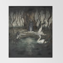The Norns Throw Blanket
