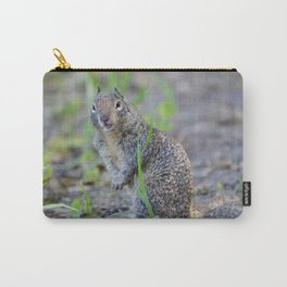 ground squirrel greeting Carry-All Pouch