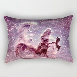 Pillars of Creation Mauve Dark Periwinkle Rectangular Pillow