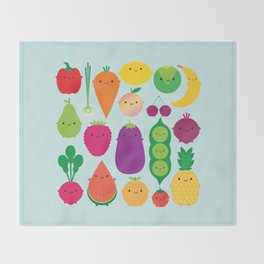 5 A Day Throw Blanket