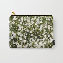 Stitchwort Stellaria Wild Flowers Carry-All Pouch