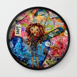 She is... Wall Clock