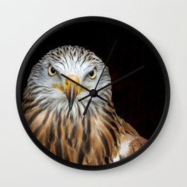 Red kite Wall Clock