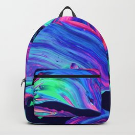 Neon abstract #charm Backpack