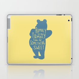 Rumbly in my Tumbly Time for Something Sweet - Pooh inspired Print Laptop & iPad Skin