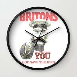 Your Country Needs You - Digital Wall Clock