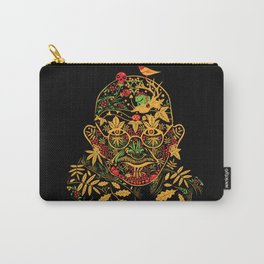 Gandhi Psychedelic Khokhloma Carry-All Pouch