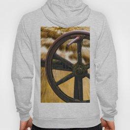 old locks wheel Hoody