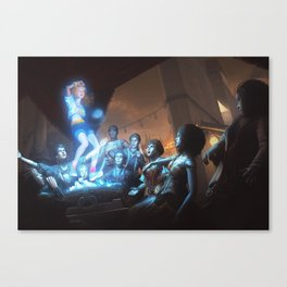 90's Spirit Canvas Print