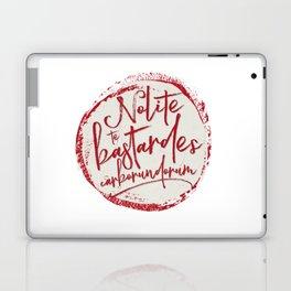 Nolite Te Bastardes Carborundorum Laptop & iPad Skin