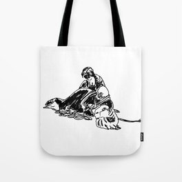 Unbounding, from an Urban Sketching Point of View Tote Bag