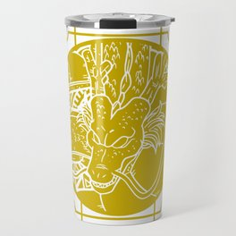 Stained Glass - Dragonball - Shenron Travel Mug