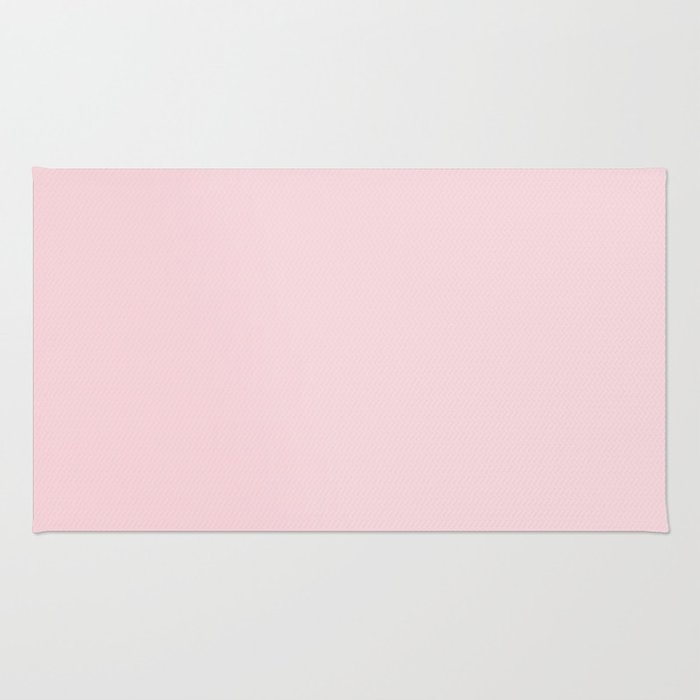 BLUSH PINK COTTON CANDY SOLID COLOR Rug