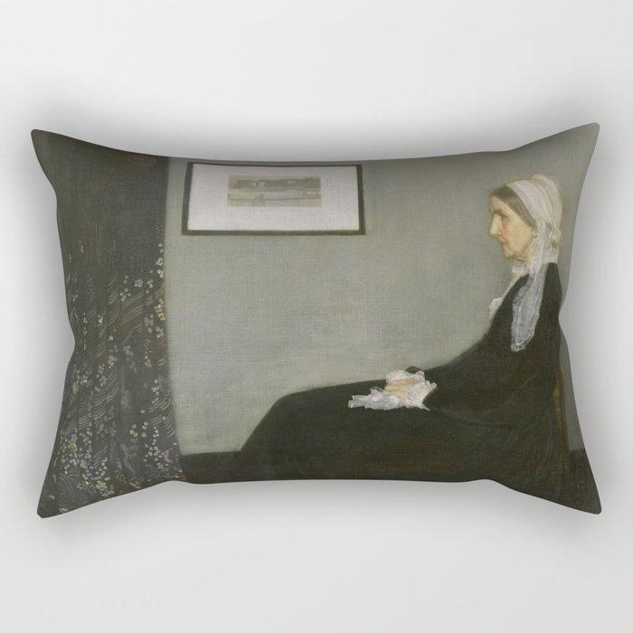 Whistler's Mother Rectangular Pillow