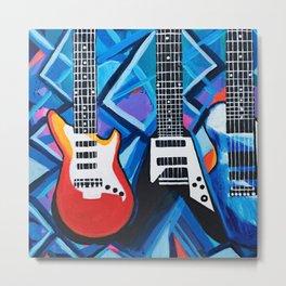 Guitar Trio Metal Print