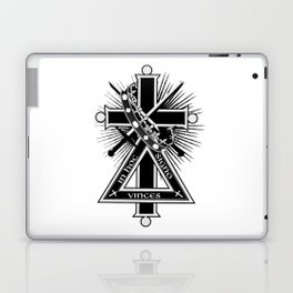 Masonic cross Laptop & iPad Skin
