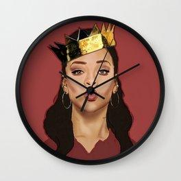 RIHANNA---ART III Wall Clock