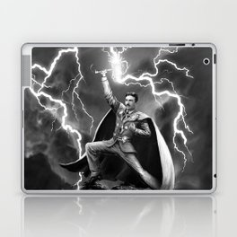 Tesla: God of Thunder Laptop & iPad Skin