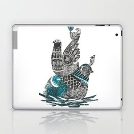 nesting birds Laptop & iPad Skin