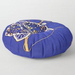Egyptian Blue :: Orchid Floor Pillow