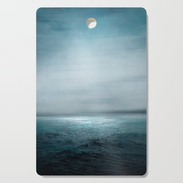 Sea Under Moonlight Cutting Board
