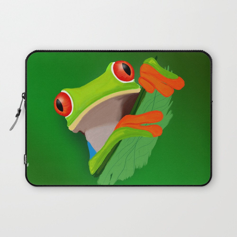 Red-eyed Tree Frog Laptop Sleeve LSV9066832