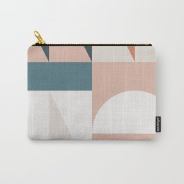 Cirque 05 Abstract Geometric Carry-All Pouch