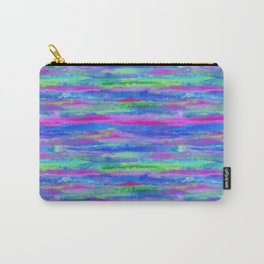 Watercolor Abstract Cool Carry-All Pouch